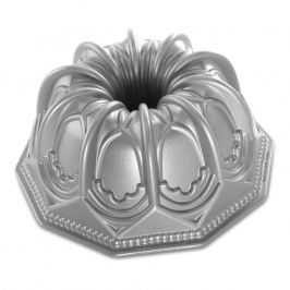 NordicWare Forma na bábovku gotická Vaulted Cathedral Bundt® stříbrná, Nordic Ware