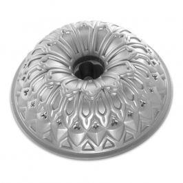 NordicWare Forma na bábovku středověká Stained Glass Bundt® stříbrná, Nordic Ware