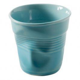 REVOL Kelímek na espresso 8 cl karibská modř Froissés