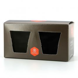 REVOL Dárková papírová krabice na 2 espresso kelímky Froissés