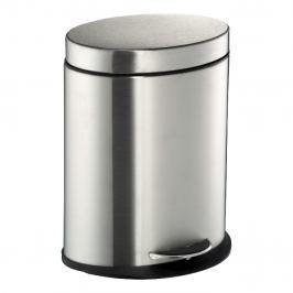 Wesco Odpadkový koš do koupelny oválný 6 l matný nerez