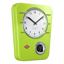 Wesco Kuchyňské hodiny s minutkou světle zelené