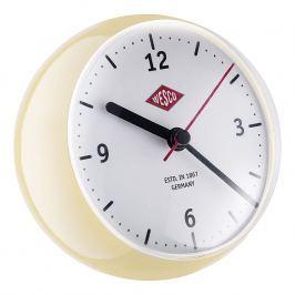 Wesco Stolní hodiny mini mandlové