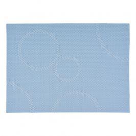 ZONE Prostírání s kruhy 30 × 40 cm light blue