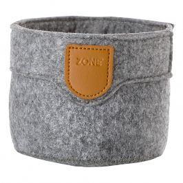 ZONE Úložný košík malý grey CRAFT