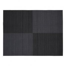 ZONE Prostírání 30 × 40 cm black square pattern