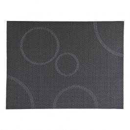 ZONE Prostírání s kruhy 30 × 40 cm grey