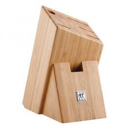ZWILLING Blok na nože asymetrický bambusový na 6 kusů