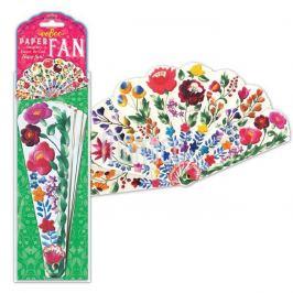 Mamiee Papírový vějíř - Květiny