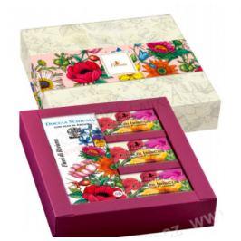 Dárkový set Květinová reviéra Florinda (200ml; 3x50g)