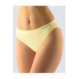 Klasické kalhotky s úzkým bokem Gina 00018P - barva:GINLBY/vanilková, velikost:L/XL