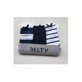 Set 3 ks kalhotek Lady Belty WP-0232 - barva:BELUNICO/potisk, velikost:L