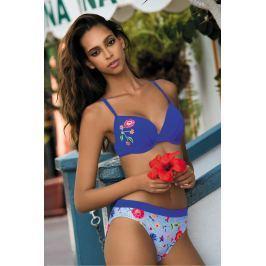 Dvoudílné plavky Feba F21B - barva:FEB460/jeans/potisk  , velikost:70/36B