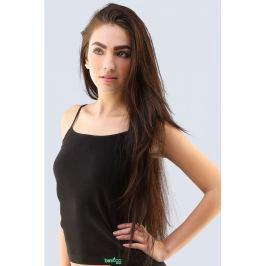 Košilka Gina 08019P - barva:GINMxCLMZ/černá peprmint, velikost:L/XL