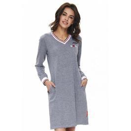 Noční košile Doctor Nap 9713 - barva:NAPGREY/šedá, velikost:L