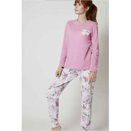 Pyžamo Lady Belty 19I-0170K-19 - barva:BELROS/růžová, velikost:L