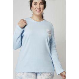 Pyžamo Lady Belty 19I-0170K-19 - barva:BELCELE/světle modrá, velikost:L
