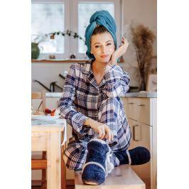Dámské pyžamo Key LNS 406 - barva:KEYMODR/Tmavě modrá, velikost:L