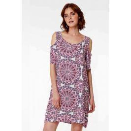 Plážové šaty Lady Belty 19V-1087R-63 - barva:BEL63UNI/geometrický, velikost:XXXL