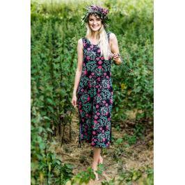 Letní šaty Key LHD 546 - barva:KEYBLACK/černá, velikost:L