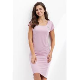 Dámská noční košile Luna 241 - barva:LN2411/růžová, velikost:M