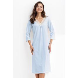 Dámská noční košile Luna 256 - barva:LN2562/světle modrá, velikost:L
