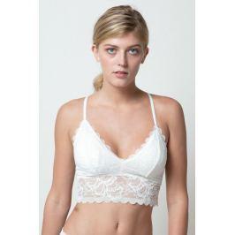 Braletka prodloužená Annie MRMISS - barva:MISSWHITE/bílá, velikost:L