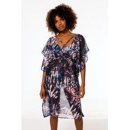 Plážové šaty Dorina D01128W - barva:DORO513/grafický vzor, velikost:M/L