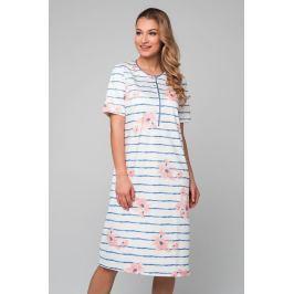 Dámská noční košile Pleas 166806 - barva:PLE403/sekt, velikost:M