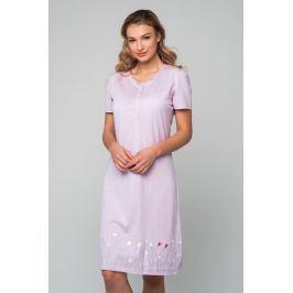 Dámská noční košile Pleas 166755 - barva:PLE820/lila, velikost:L