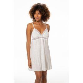 Noční košilka D01175R - barva:DOROT19/šedá melanž, velikost:L