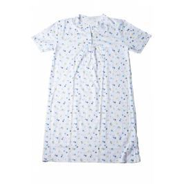 Dámská noční košile Lady Belty 19V-0571S-25 - barva:BELCELE/světle modrá, velikost:XL