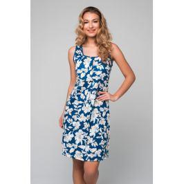 Šaty Lady Belty 19V-0403J-04 - barva:BELUNI/šedá/potisk, velikost:L