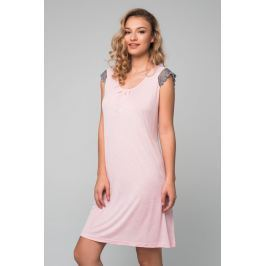 Šaty Lady Belty 19V-0431M-22 - barva:BELROS/růžová, velikost:S