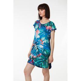 Plážové šaty Lady Belty 19V-1069G-88 - barva:BEL88UNI/palmové listy, velikost:S