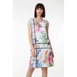Plážové šaty Lady Belty 19V-1068V-87 - barva:BEL87UNI/květinový, velikost:L