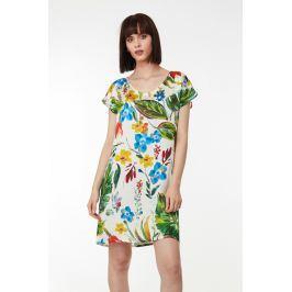 Plážové šaty Lady Belty 19V-1042S-75 - barva:BEL75UNI/barevný potisk, velikost:M
