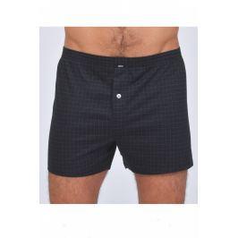 Pánské trenýrky Pleas 165447 - barva:PLE005/šedočerná, velikost:XXL Pánské prádlo