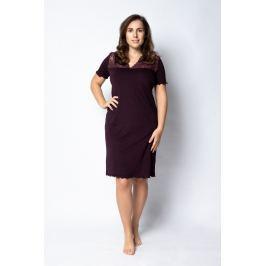 Dámská noční košile Pleas 164529 - barva:PLE530/temně fialová, velikost:M