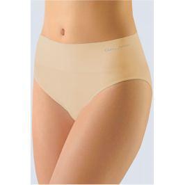 Dámské klasické kalhotky s širokým bokem Gina 00035P - barva:GINLBH/tělová, velikost:S/M