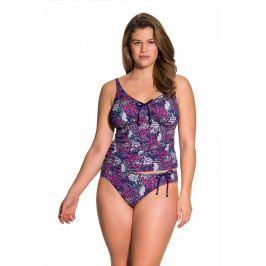 Plavkové kalhotky Dorina D17023E - barva:DORO605/růžovo-fialový potisk, velikost:L