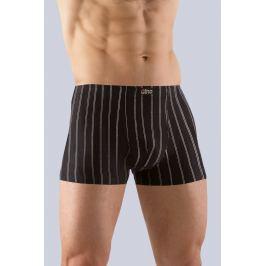 Boxerky s kratší nohavičkou Gina 73065 - barva:GINMxCMxG/černá, velikost:54/56