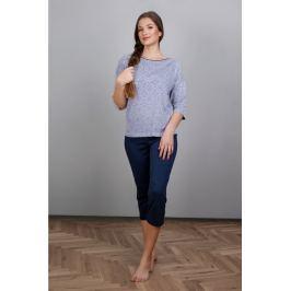 Dámské pyžamo Cornette 147 - barva:COR139/modrá, velikost:L