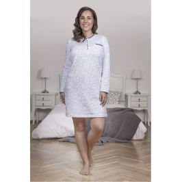 Dámská noční košile Lady Belty 17l-0409-08 - barva:BELAZU/modrá, velikost:L