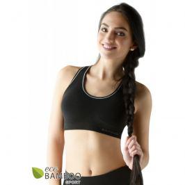 Sportovní podprsenka Gina 07018P - barva:GINMxC/černá, velikost:L/XL