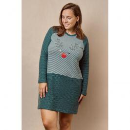 Dámská noční košile Lady Belty 20I-0403K-18 - barva:BELVERDE/zelená, velikost:L