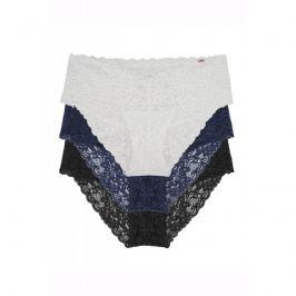 Sada kalhotek Dorina D000291LA021 - barva:DORO3X0003/černá/inkoust/slonová kost, velikost:L