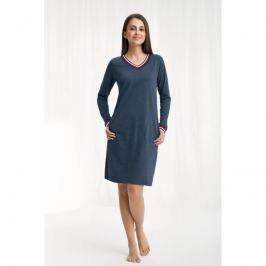 Dámská noční košile Luna 262 - barva:LN2622/melanžová modrá, velikost:L