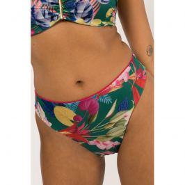 Plavkové kalhotky Dorina D02086M1 - barva:DOROK79/zelena s květinami, velikost:L