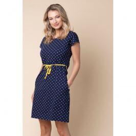 Šaty Pleas 170834 - barva:PLE600/žlutá, velikost:XXL